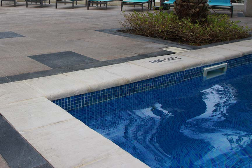 Coping Tiles for Swimming Pool Areas - Ducon Industries